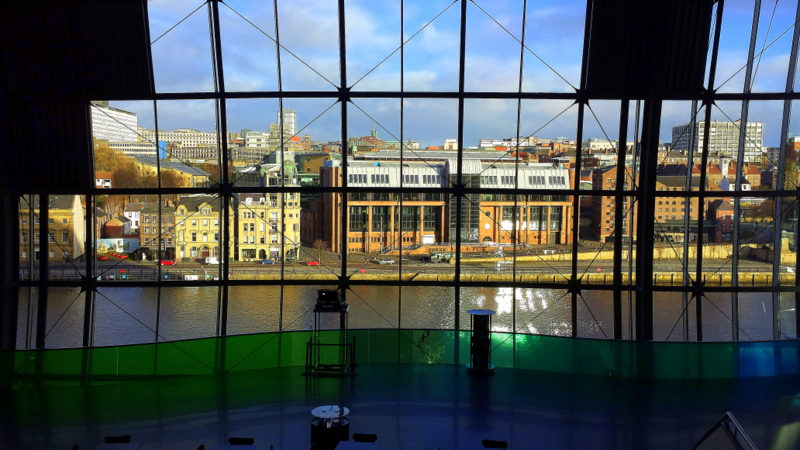 View from Sage Gateshead
