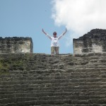 Facing Fears in Central America: Climbing Tikal and Swimming with Sharks