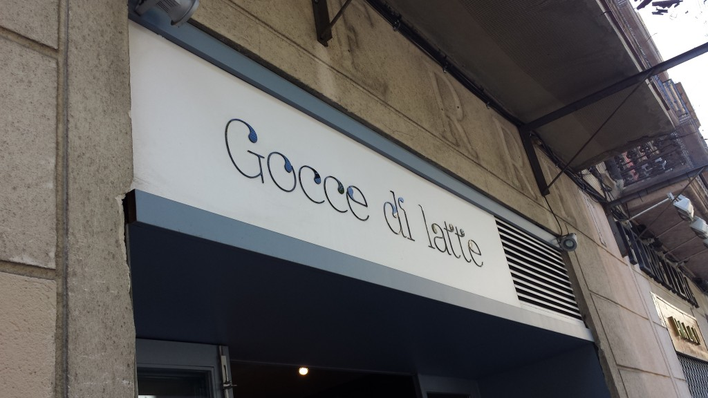 Gocce di latte - the best ice cream place in the city!