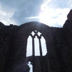Summer Heritage: Finchale Priory window