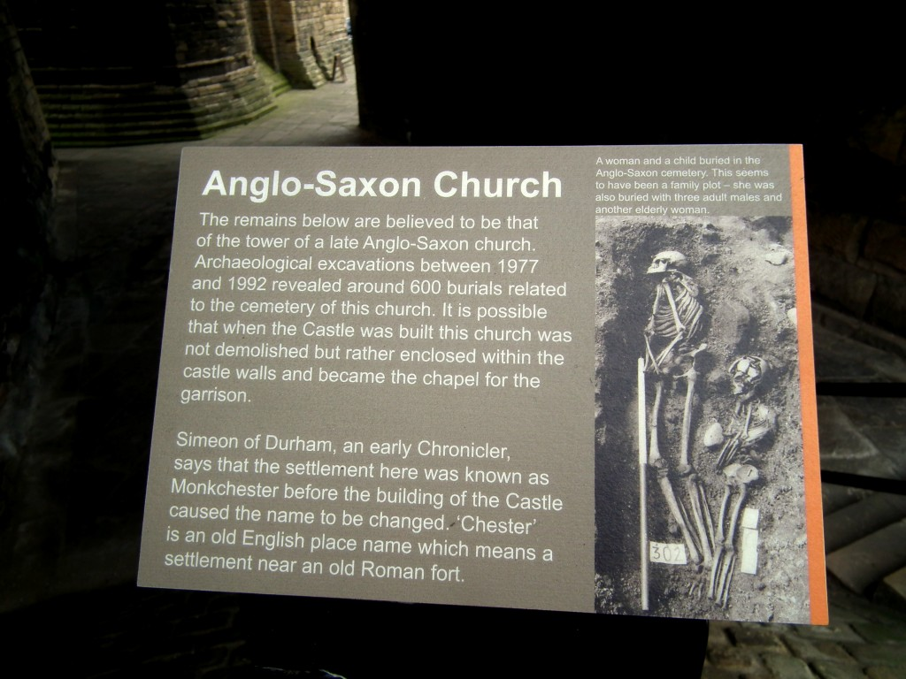 Anglo-Saxon Church foundations