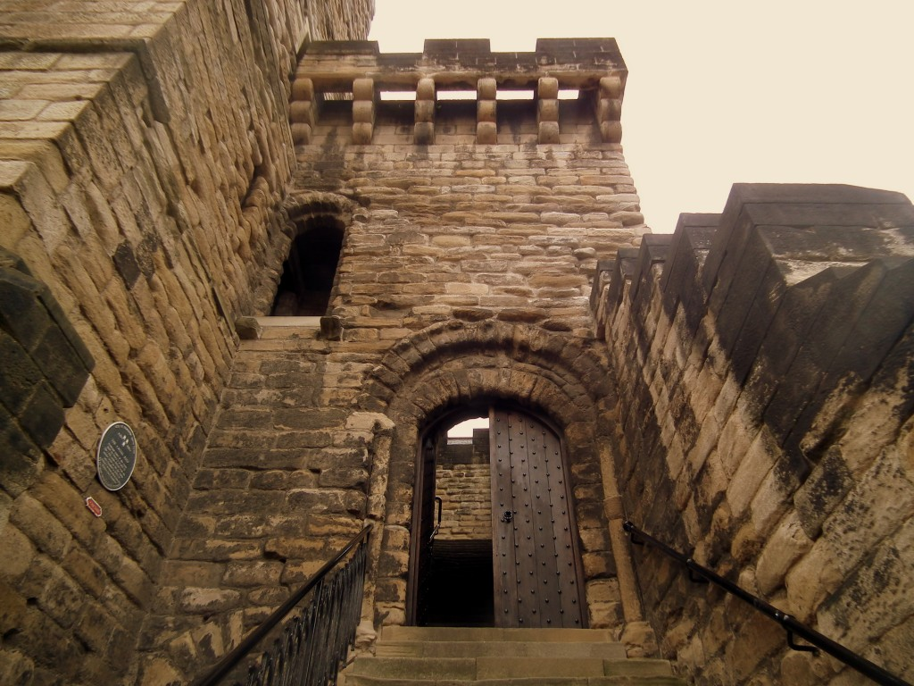 Castle steps in Newcastle