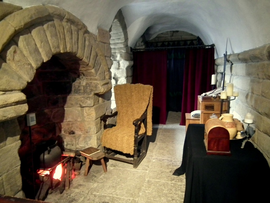 Soldiers Room in Newcastle Castle