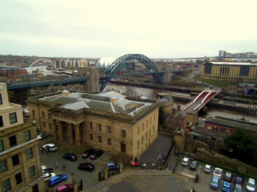 View of Newcastle-Upon-Tyne riverside