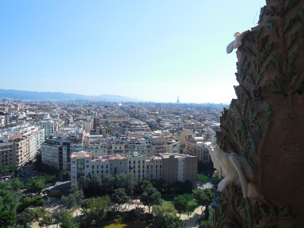 View from La Sagrada Familia