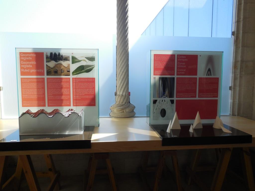 Information points La Sagrada Familia