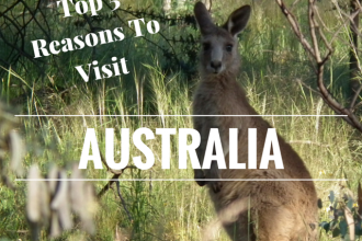 Top 5 reasons to visit Australia