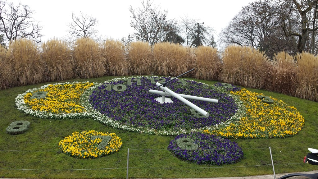 Flower Clock Geneva