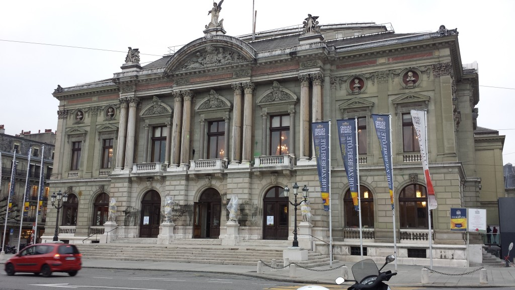Grand Theatre in Geneva