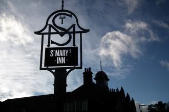 St Marys Inn Sign