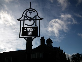 St Marys Inn Sign