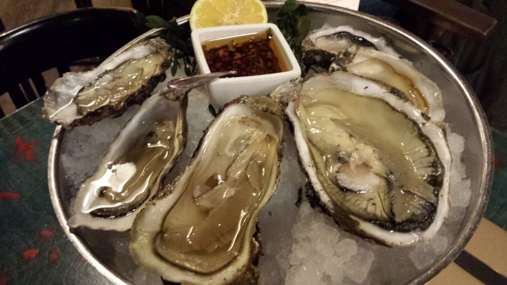 Oysters at Hotel New York