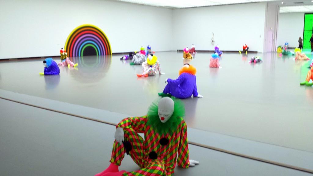 Ugo Rondinone installation Rotterdam