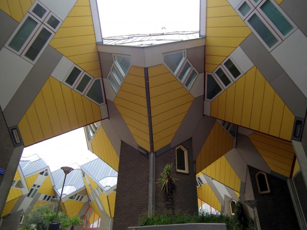 Cube Houses, Tree Houses, Piet Blom
