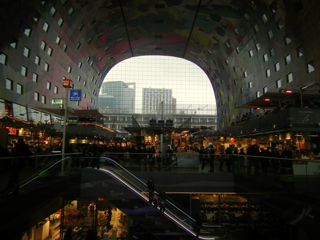 Marthal Rotterdam night