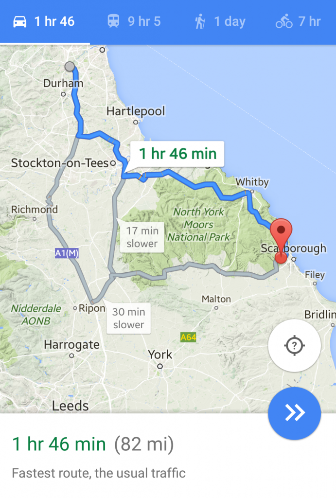 My North Yorkshire Road Trip