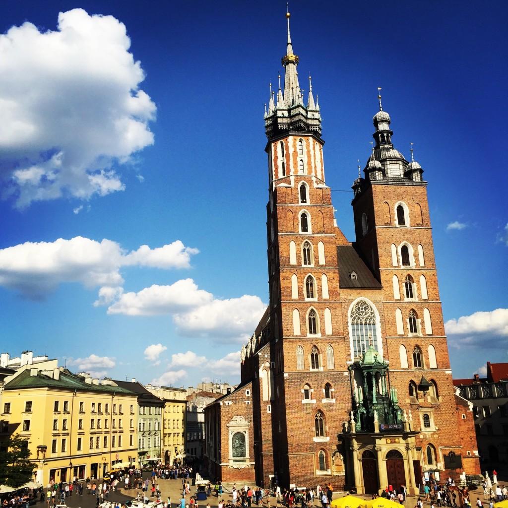 Spring destination Krakow