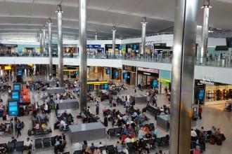 Departures Heathrow Airport