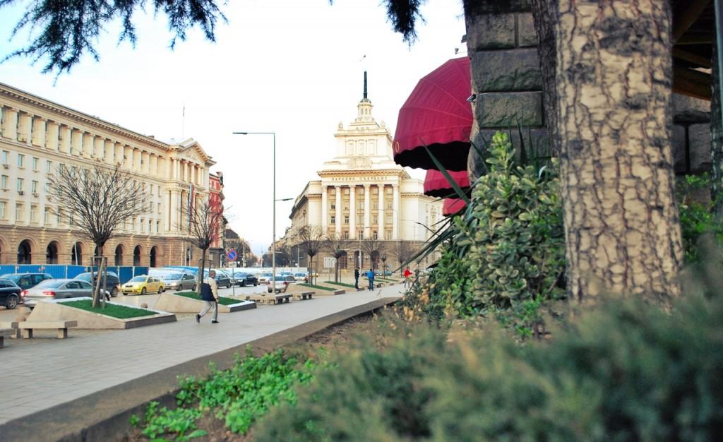 Spring destination Sofia Bulgaria