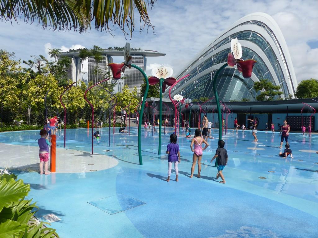 Spring destination Singapore