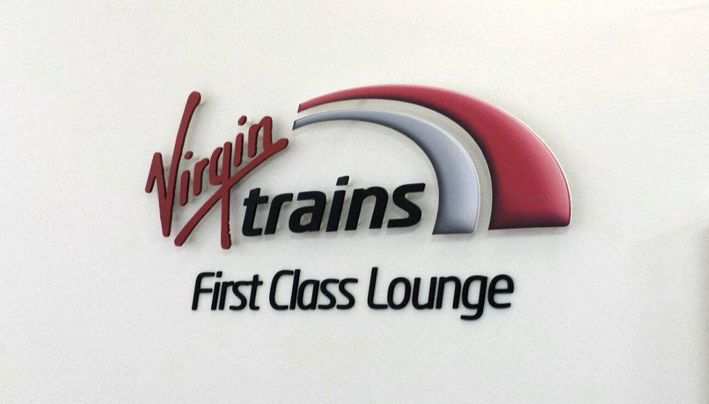 Virgin Trains First Class lounge