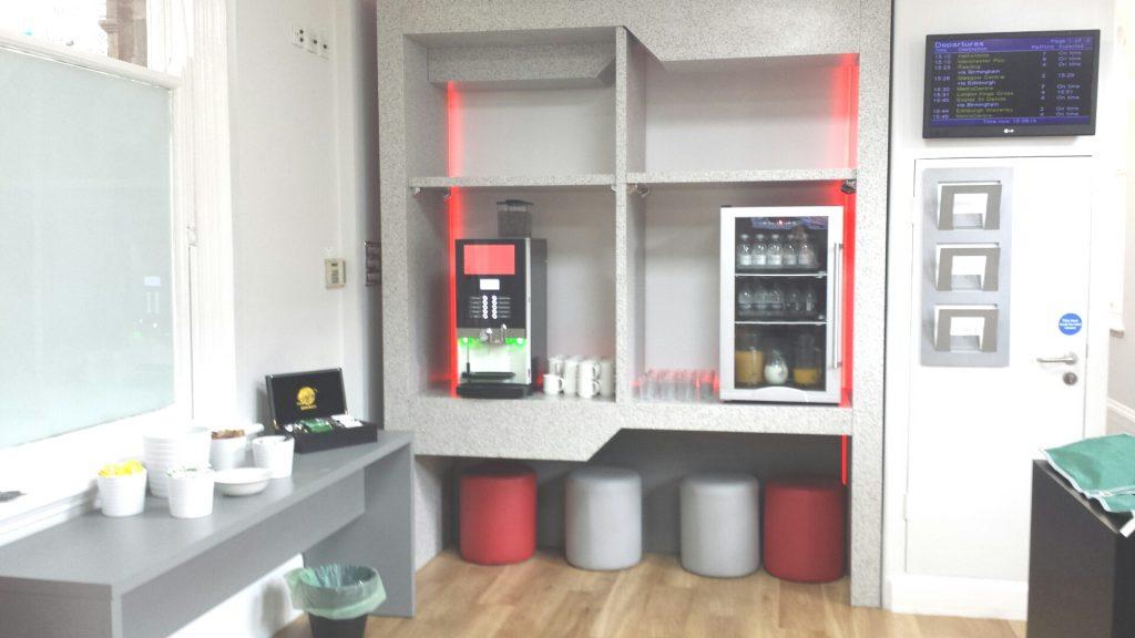 Virgin First Class lounge facilities