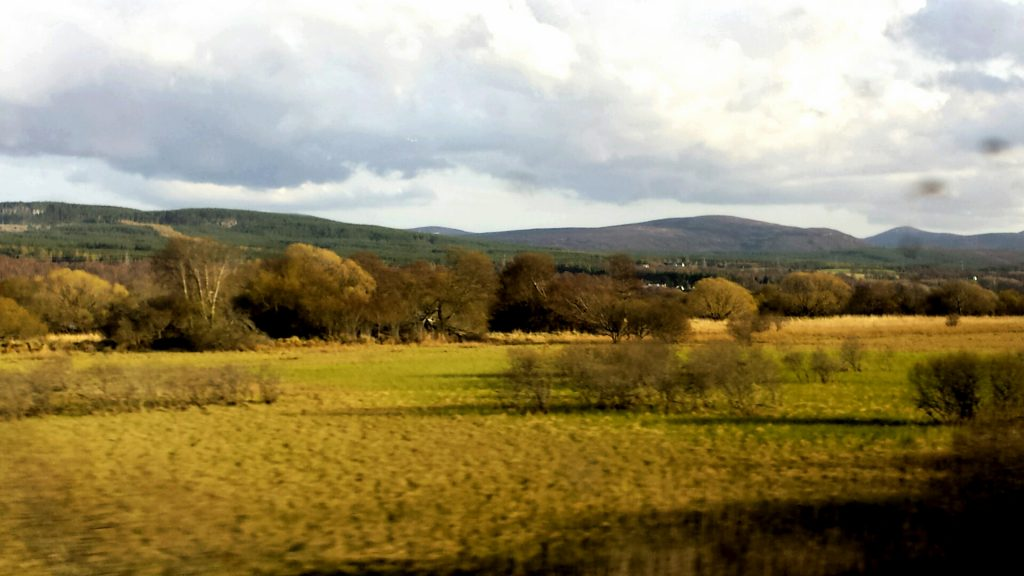 Virgin Trains UK countryside