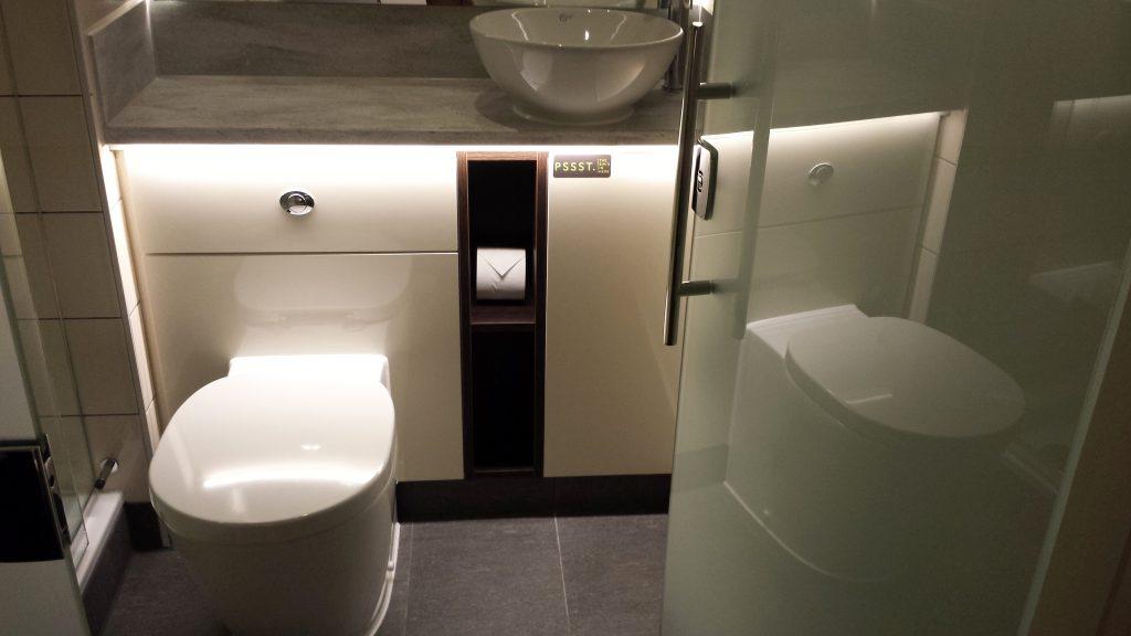 Shower room in Hub by Premier Inn