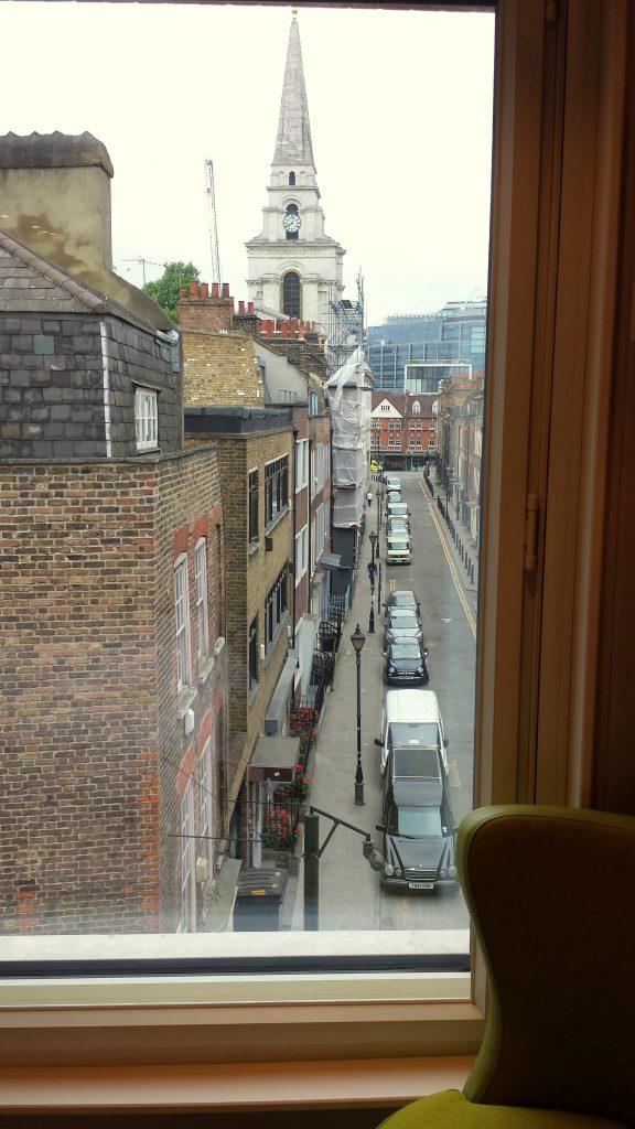 View from Hub by Premier Inn London Spitalfields