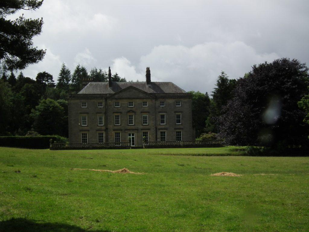 Hesleyside Hall