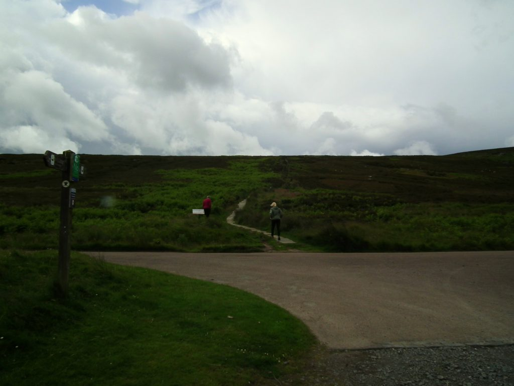 Walk up Simonside Hills
