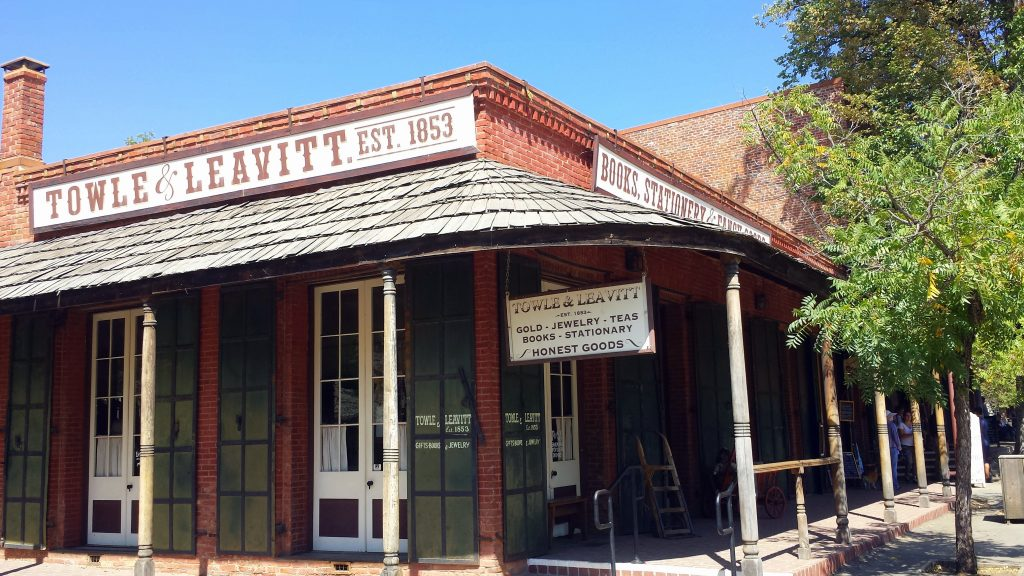 Going Back in Time at Columbia State Park #VisitTuolumneCounty